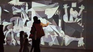 Exposition Imagine Picasso Lyon La sucriere novembre 2019